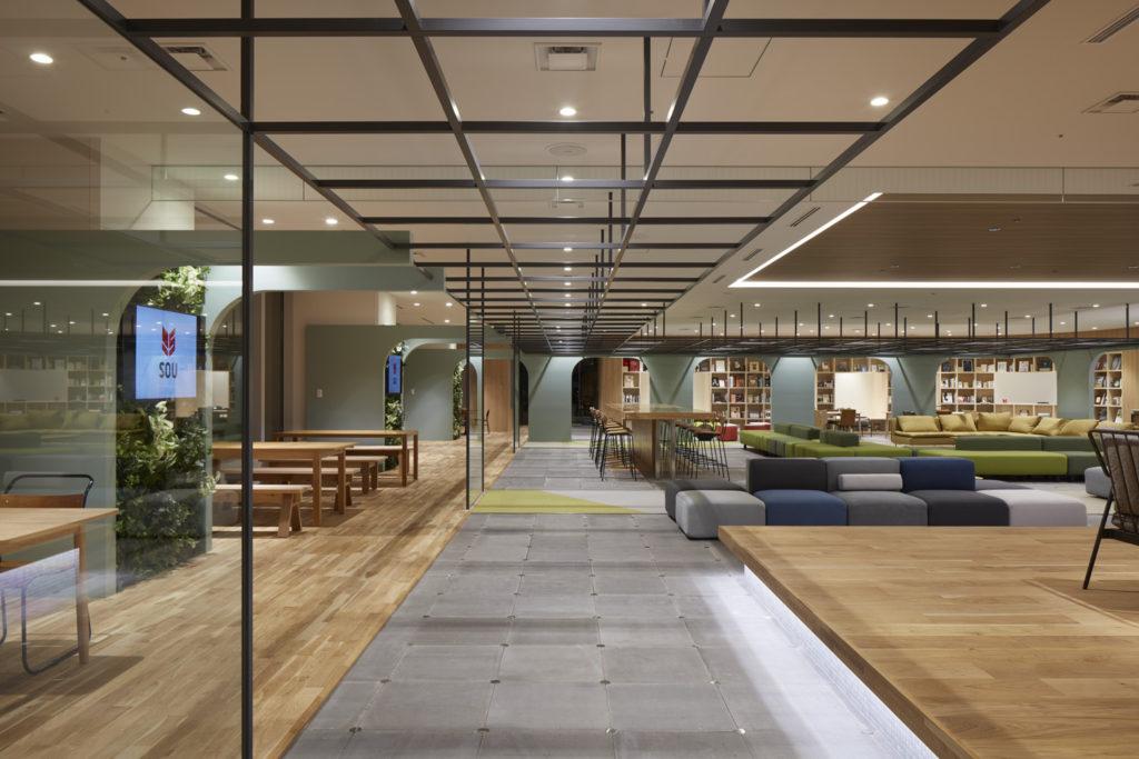 SOU オフィスが【商店建築/2016年11月号】に掲載されました