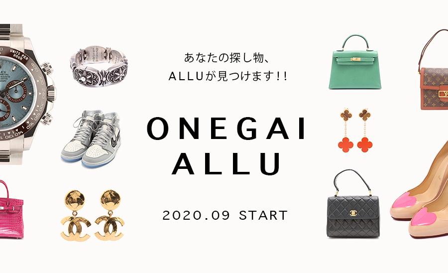 ALLU  新サービス「ONEGAI ALLU」スタート!