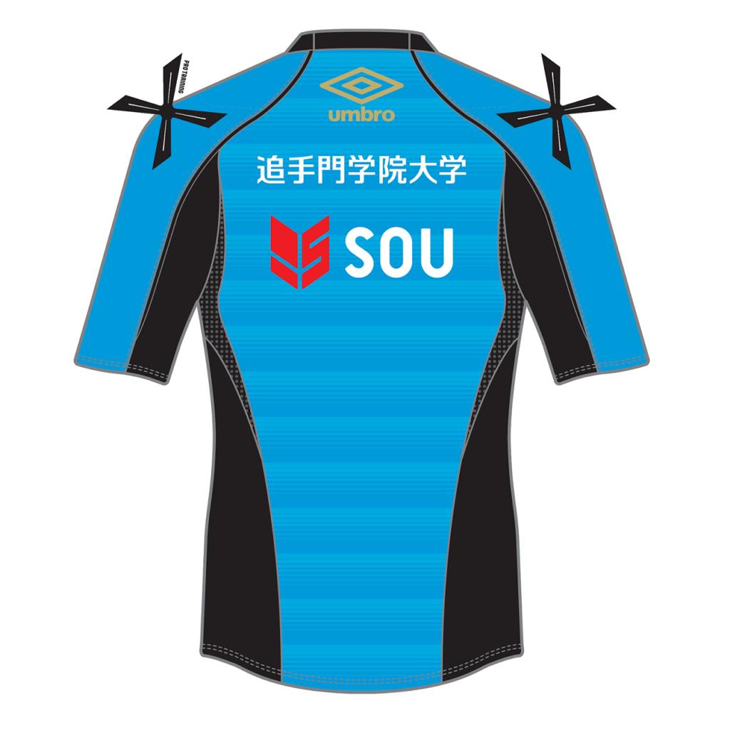 SOU 代表 嵜本の元所属クラブ ガンバ大阪とスポンサー契約を締結