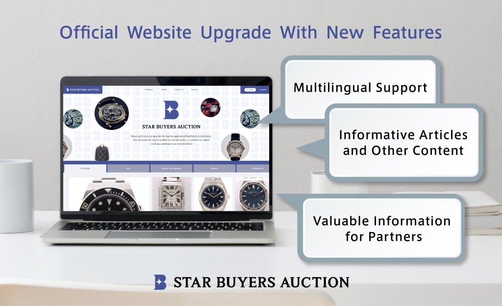 STAR BUYERS AUCTION Official Site Now With Multilingual Support; Launch of SBA Magazine